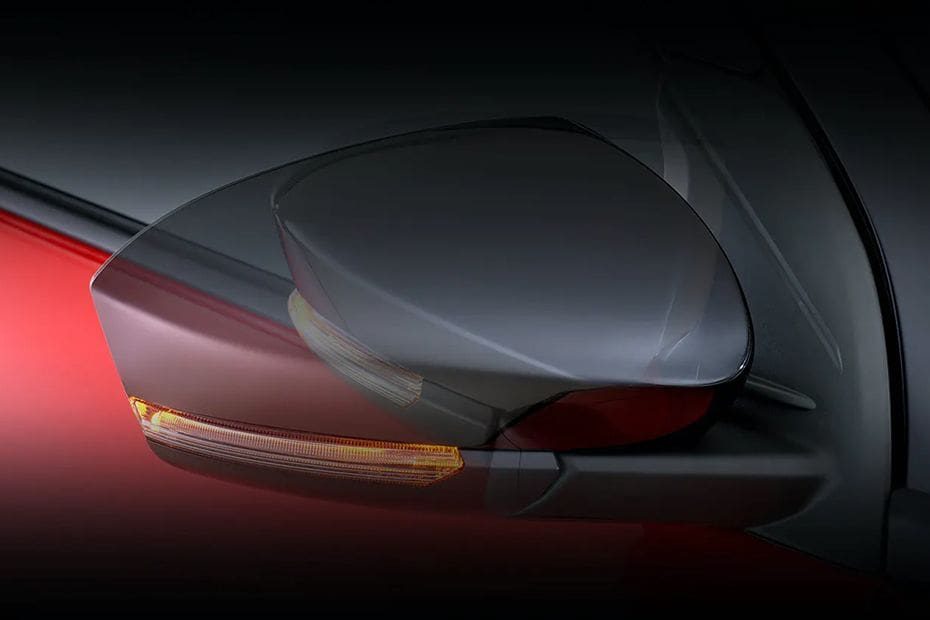 Daihatsu Rocky Drivers Side Mirror Front Angle