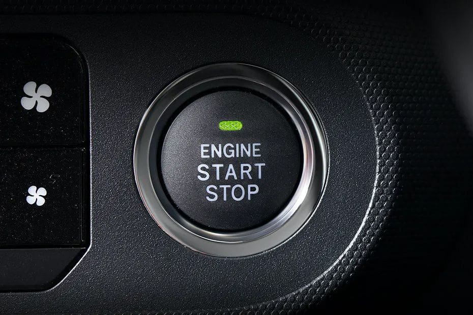 Daihatsu Rocky Engine Start Stop Button