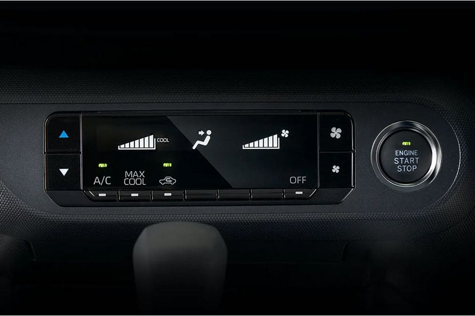 Daihatsu Rocky Front Ac Controls